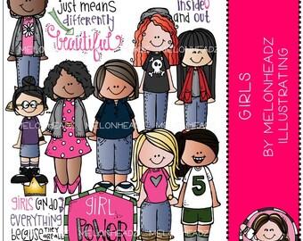 Girls clip art - COMBO PACK