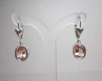 Dust Devil Oregon Sunstone Earrings