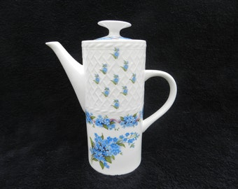 Teapot: Hand Decorated Porcelain