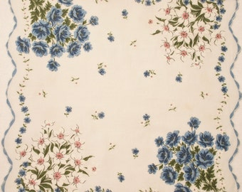 "Lovely ""Something Blue"" Handkerchief"