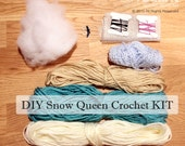 DIY Snow Queen Crochet Kit