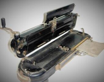 Protectograph Check Writer 1920's