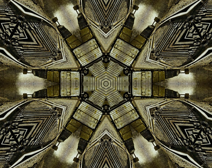 Crossroads Kaleidoscope, Photography, Kaleidoscope, Abstract Photography, Digital Art