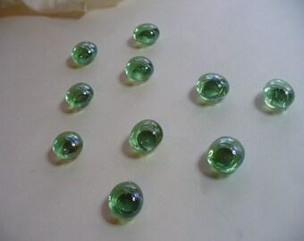 Light Green Glass Magnets, Office Magnets, Refrigerator Magnets, Locker Magnets, Paper Holder Magnets, Beach Magnets, Clear Green Glass