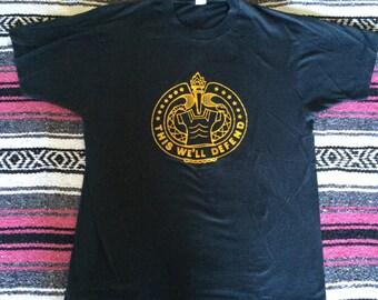 Vintage This We'll Defend Super Soft T-Shirt
