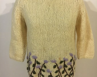 Amazing 1950s Made in Italy Neiman Marcus sweater