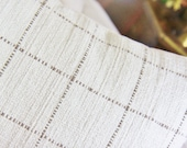 Tan & Creme Plaid Pillow Cover - Check Pillow Cover -Taupe Creme Pillow - Throw Pillow - Ivory Woven Pillow Cover - Pindler and Pindler