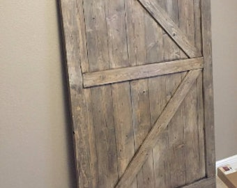 Custom Barn Doors For Shelby - British Brace Barn Doors