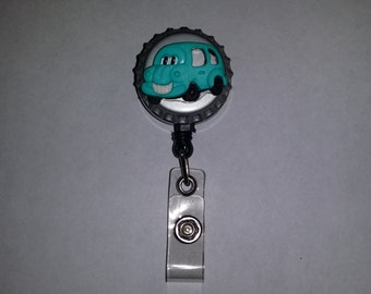 Car Retractable Badge Holder or Key Chain