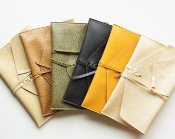 Faux Leather iPad Mini Sleeve - Ready To Ship