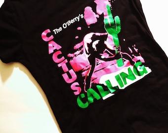 Cactus Calling, The Clash, London Calling, Clash Parody shirt, Chad Mize, Chizzy