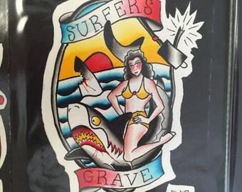 Surfer's Grave