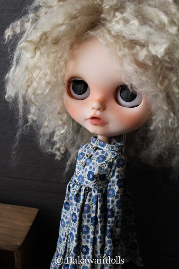 RESERVED / One customized OOAK BlytheDoll Nelly/ Customized