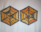 Halloween Spider Web Table Topper