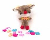 Crochet Amigurumi, Crochet Animal, Amigurumi animal,Crochet doll, Amigurmi in handmade Amigurumi Deer