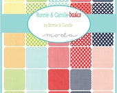 NEW - Bonnie and Camille Basics Charm Pack by Bonnie & Camille for Moda