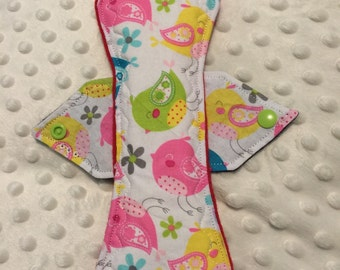 """9"""" heavy absorbency baby chicks cotton top cloth pad"""