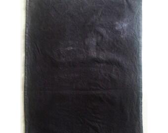 001//black OR indigo cotton tea towel