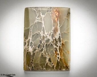 Sea Sediment Jasper Cabochon - Drilled