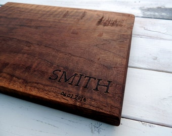 Engraved Cutting Board New Home Gift First Home Gift for Family New Homeowner Gift Housewarming Gift Personalized Wooden Cutting Board