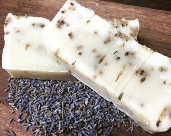 Organic Lavender Soap Bar Calming Relaxing Essential Oil