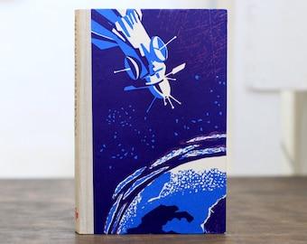 "Hollow Book Treasure Box Sherlock ""Spaceship"", Recycled Book Box"