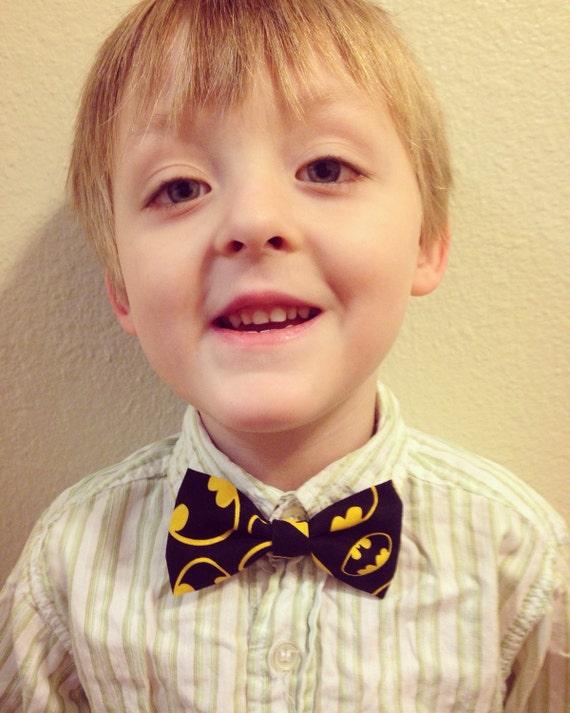 Kids' Batman Bowtie/Hair Bow