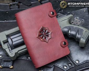 Chaos Star leather notebook