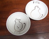 Bowls for Fitz the Cat special order