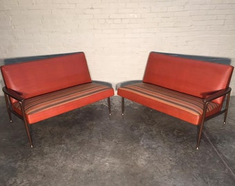 Viko By Baumritter Mid-Century Modern Sofa Sectional / Couch - Nice Mad Men / Eames Era Decor *SHIPPING NOT INCLUDED*