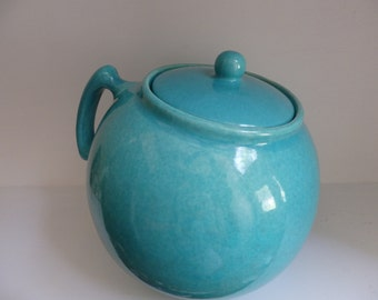 Pottery Ball Cookie Biscuit Jar