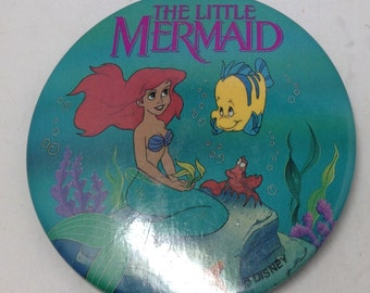 "Disney The Little Mermaid 2"" Button"