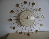 Vintage Mid Century  Wall Clock