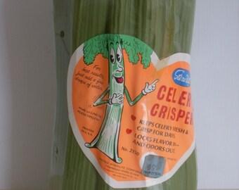 """Vintage """"STERLITE"""" Celery Crisper"""