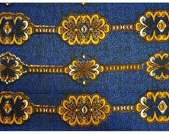 Julius Holland Wax Print Cotton Fabric For Dressmakings/Tribal Fabric Kitenge/Pagnes/ Chitenge Sold By Yard