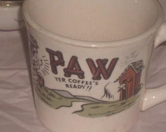 Paw Vintage Mug
