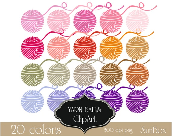 crochet yarn clipart - photo #49