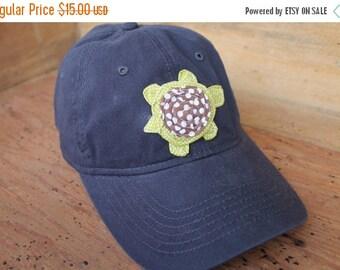 Sale Baseball Cap - Navy/Green Turtle - Ready to Ship