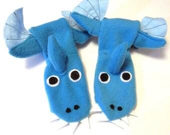 Dragon Fleece Socks