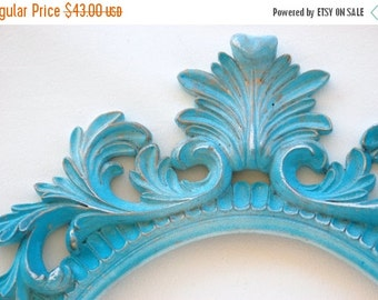 Wedding Ornate Oval frame Custom Pick Your Color baroque style