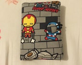 Comic Marvel Heros passport cover