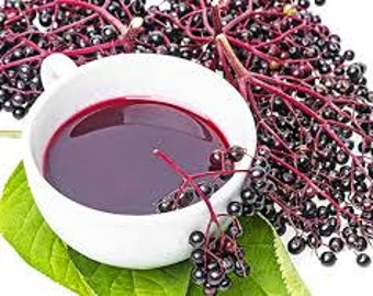 Elderberry Jam, Elderberry Syrup,Homemade Jam, Cough Syrup, Cold & Flu Remedy