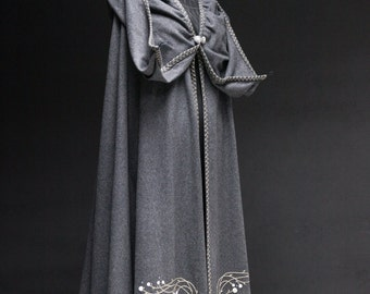 """DISCOUNTED PRICE! Medieval Wool Cloak """"Fairy Tale"""""""