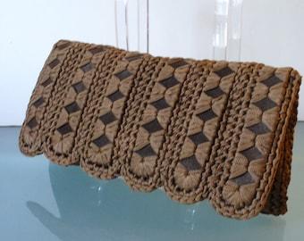 Made in Italy Eva  Crochet Clutch Bag
