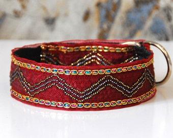 Greyhound collar, Saluki, Whippet,Wolfhound , Lurcher, Italian greyhound, dog collar