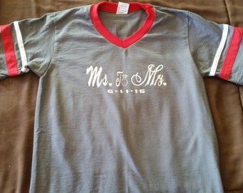 Ms. to Mrs Jersey T-shirt