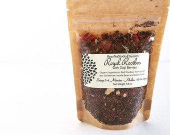 ROYAL ROOIBOS Organic Loose Luxurious Tea Blend 1.5 oz