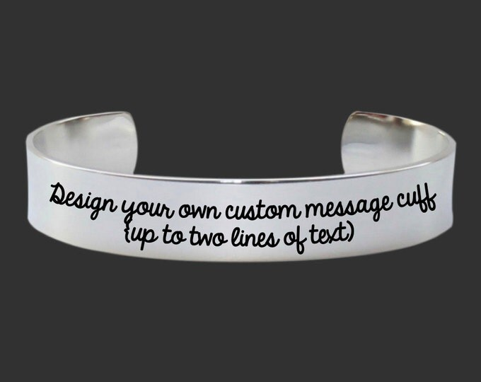 Create Your Own | Custom Bracelet | Personalized Gift | Bridesmaid Gifts | Design Your Own Jewelry | Personalized Gifts | Korena Loves