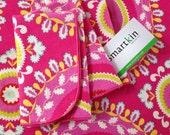 Hot Pink Paisley Napkin by Smartkin