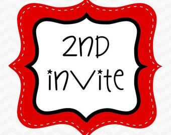 2nd Invite